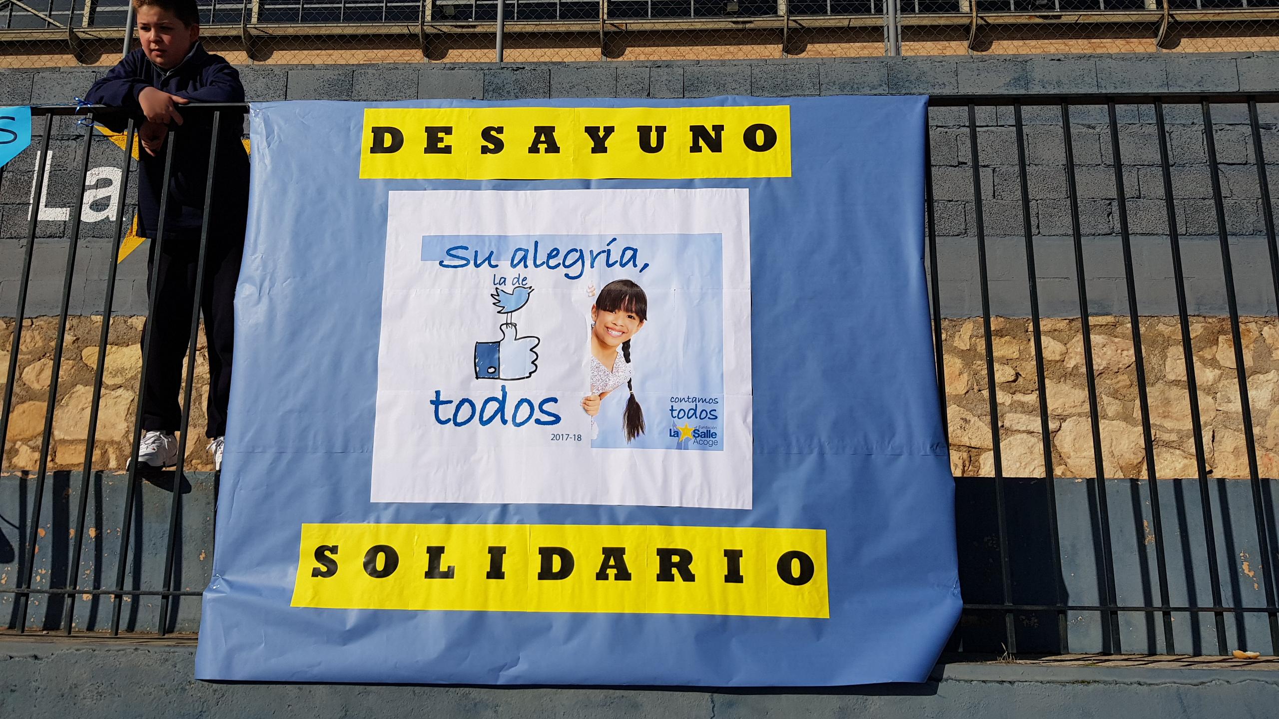 Desayuno solidario en La Salle Alcoi