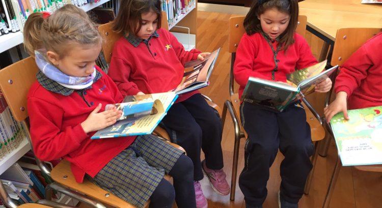 Infantil 5 anys en la Biblioteca de la Zona Nord