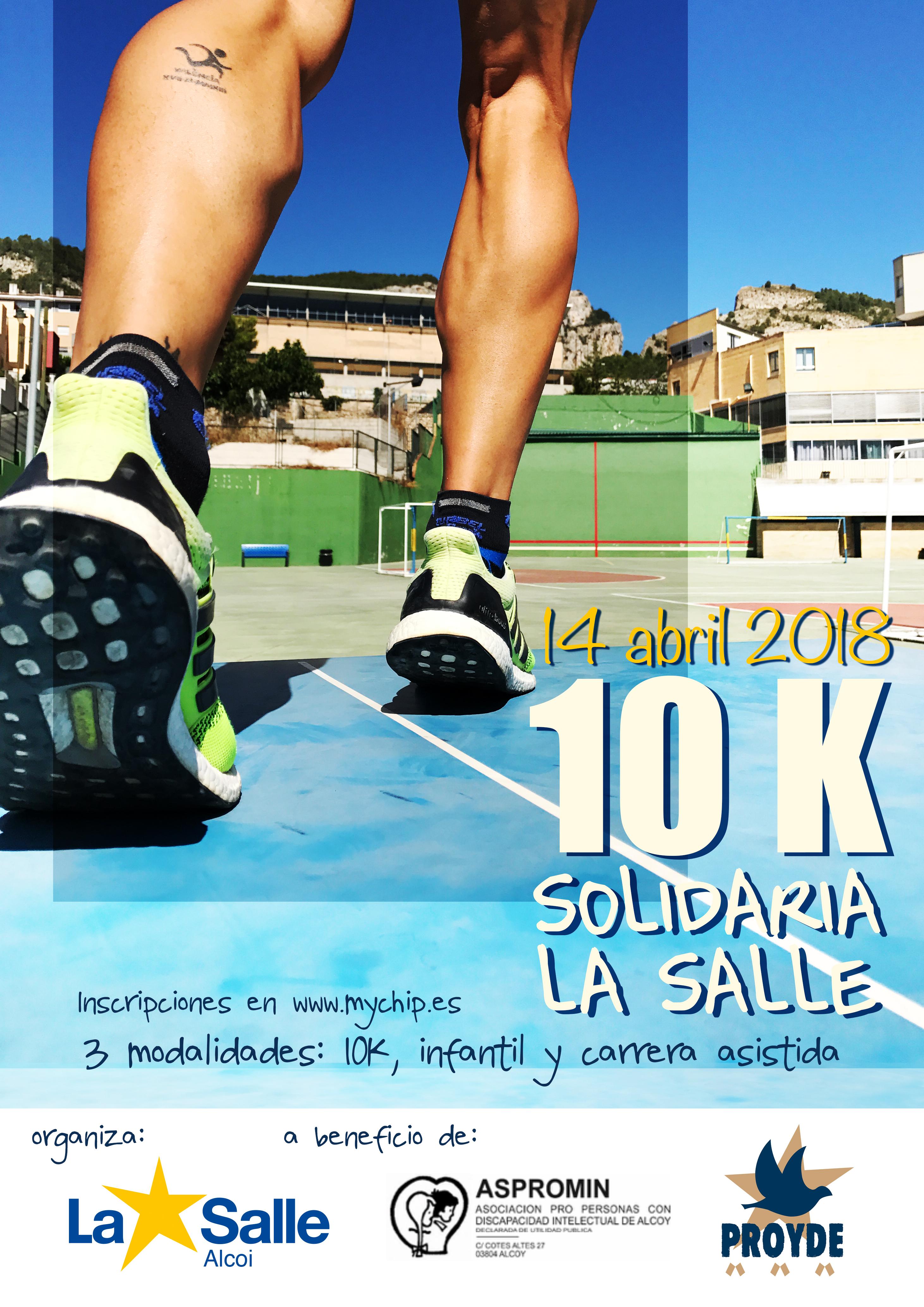 10k solidaria en La Salle Alcoi