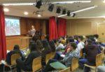 Xarrada de la UMH per als alumnes de BAT en La Salle Alcoi