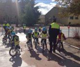 Els alumnes d'Infantil 5 anys visiten el parc d'educació viària d'Alcoi