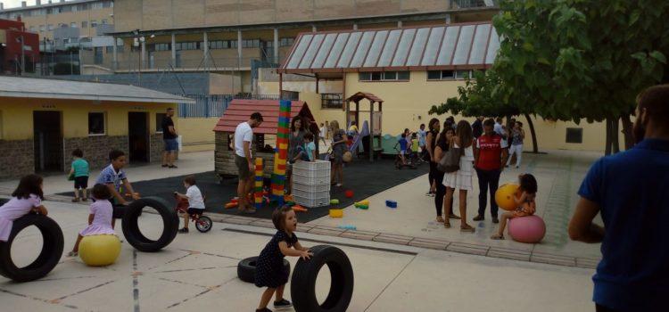 Berenar per als alumnes de 3 anys en La  Salle Alcoi