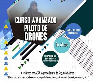 Curso avanzado piloto de drones en La Salle Alcoi
