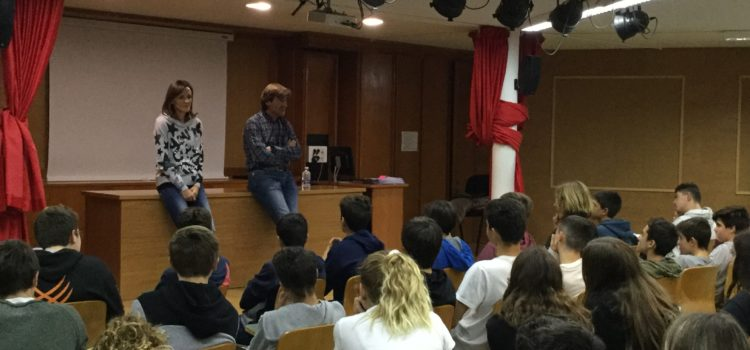 Charla sobre el cáncer para alumnos de La Salle Alcoi