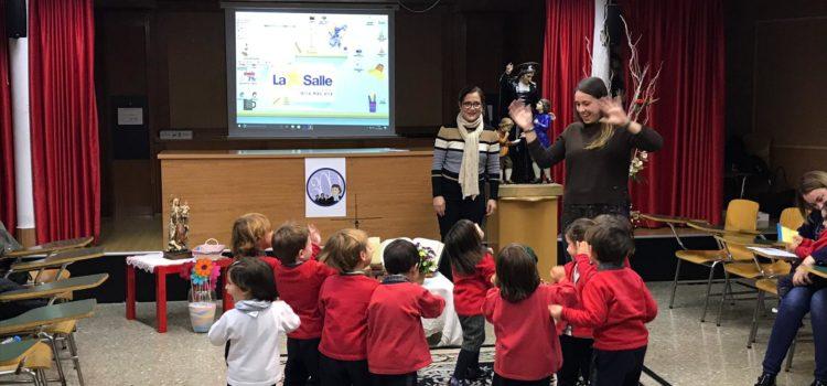 Presentación a la Virgen de los niños de 3 años en La Salle Alcoi