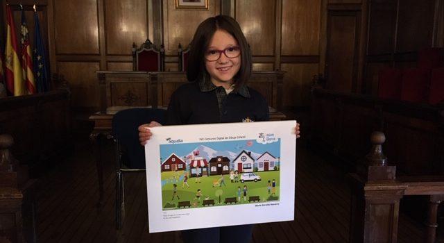 Aqualia premia a una alumna de La Salle Alcoi