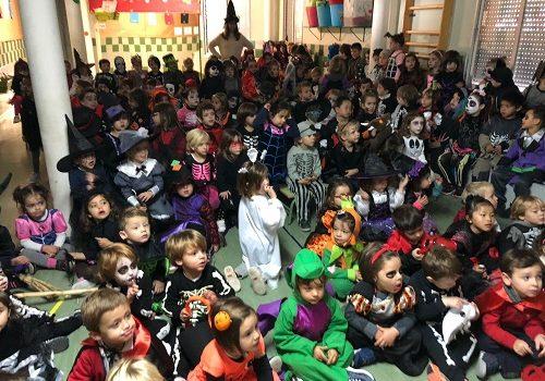 Infantil treballa el sentiment de la por en La Salle Alcoi