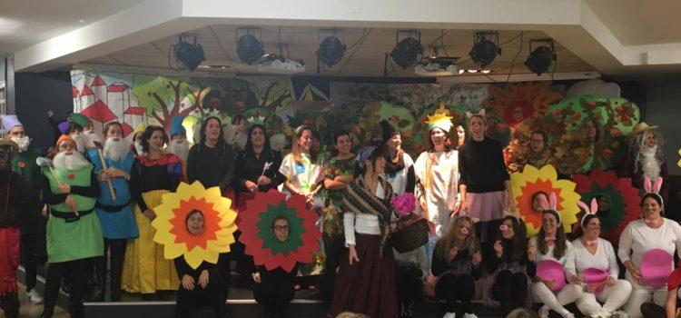 La castanyera visita els alumnes d'Infantil de La Salle Alcoi