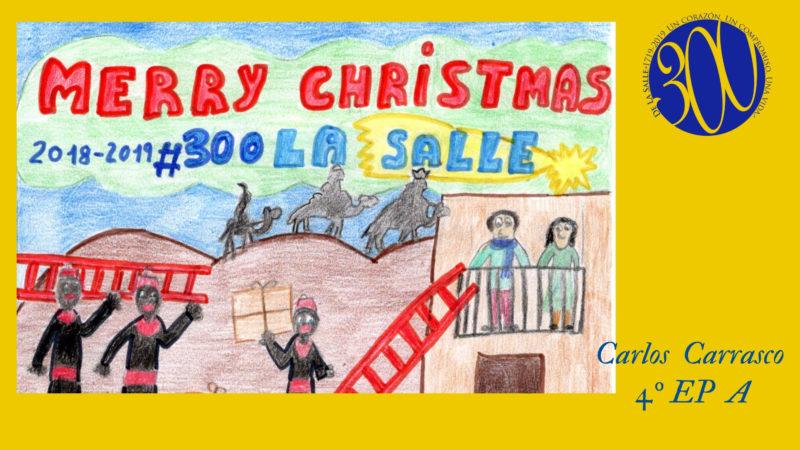 Concurso de postales navideñas en La Salle Alcoi