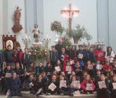 Alumnes de La Salle Alcoi visiten l'església de Sant Maure i Sant Francesc
