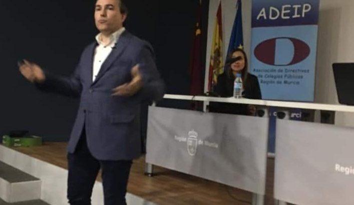 La Salle Alcoi presente en las IV Jornadas sobre liderazgo e innovación dirigidas a directivos de Educación Primaria de la Región de Murcia