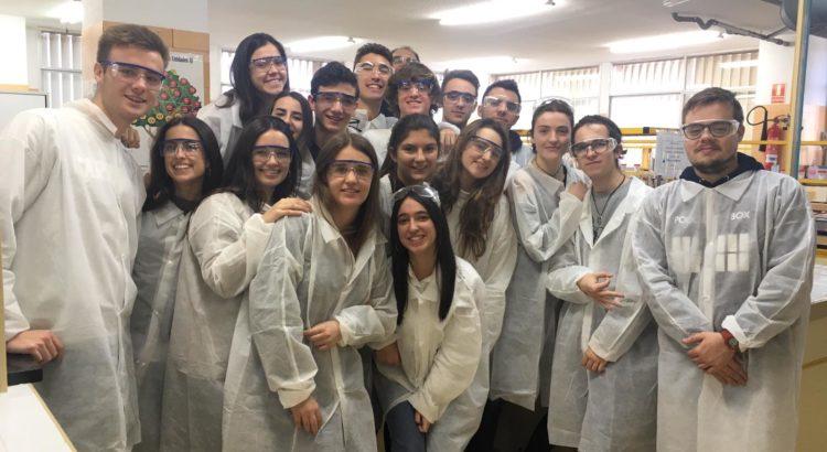 Alumnes de Batxillerat de La Salle Alcoi visiten la universitat