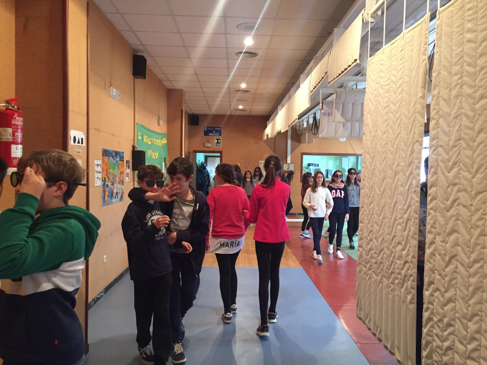 La Salle Alcoi visita el Centro de Recursos de la ONCE en Alicante