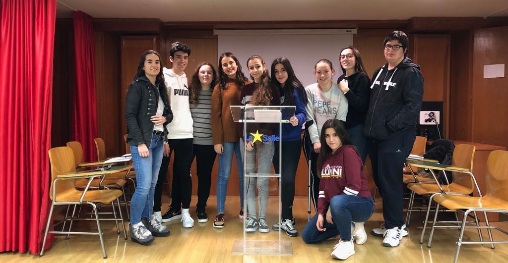 Gran debut de La Salle Alcoi  en la nueva edición de la  Liga de Debate Escolar