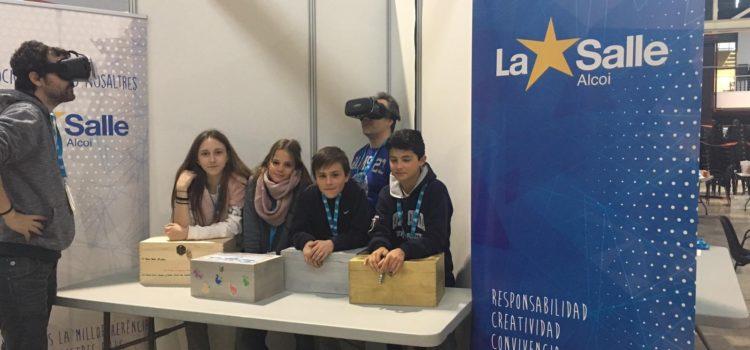 La Salle Alcoi participa en el YOMO, The Youth Mobile festival, dentro del MWC (Mobile World Congress) de Barcelona.