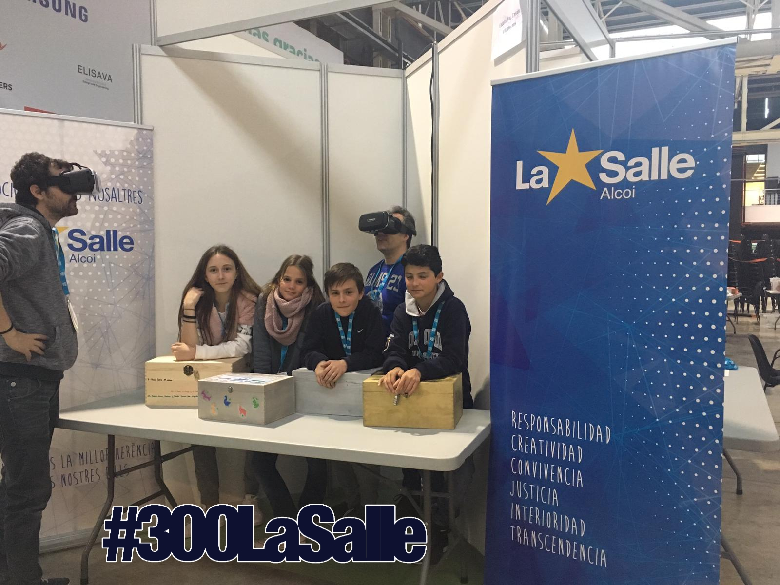 La Salle Alcoi participa en el YOMO, The Youth Mobile festival, dentro del MWC (Mobile World Congress) de Barcelona.