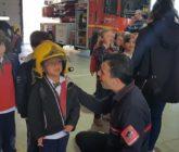 La Salle Alcoi visita el parque de bomberos