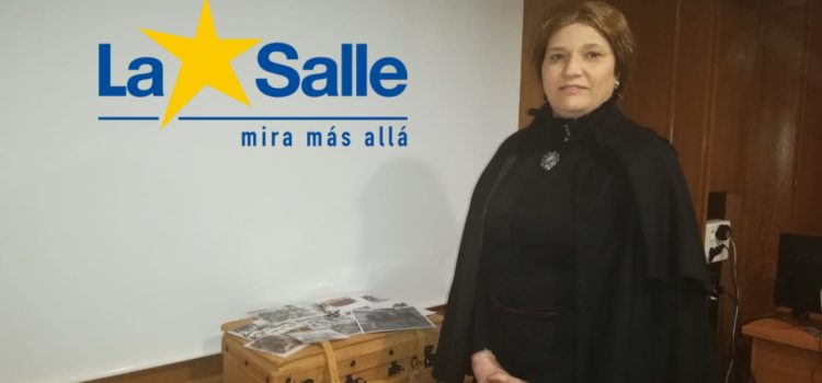 Doña Amalia visita La Salle Alcoi