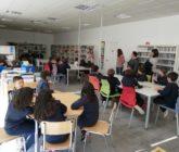 Los alumnos de 3ºEP de La Salle Alcoi  visitan el Aula de Lectura de la Uixola