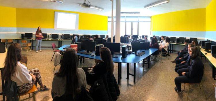 Taller de redacción de noticias para alumnos de La Salle Alcoi