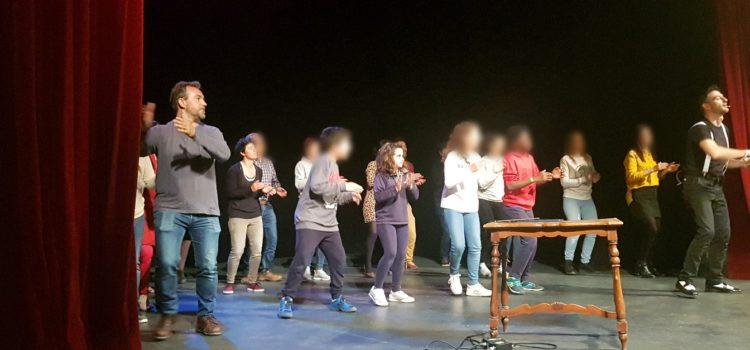 """Alumnos de La Salle Alcoi participan en el concierto-taller """"Con el cuerpo"""""""