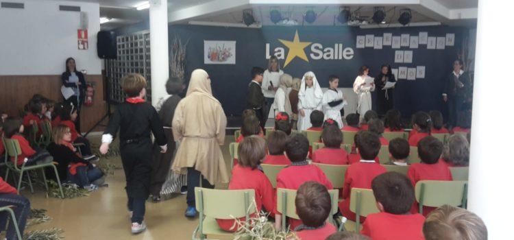 Celebración de Ramos en La Salle Alcoi