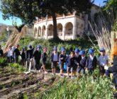 Alumnos de La Salle Alcoi visitan los huertos sociales