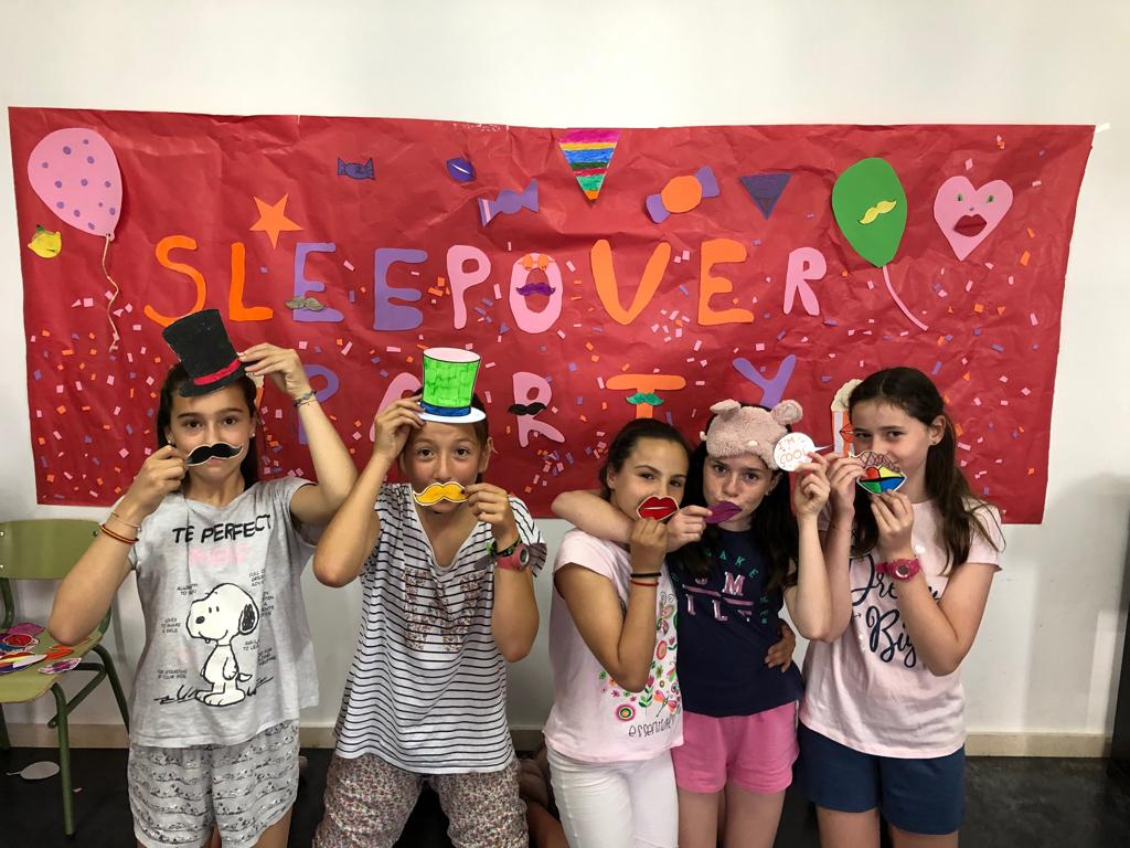 Sleepover party en La Salle Alcoi