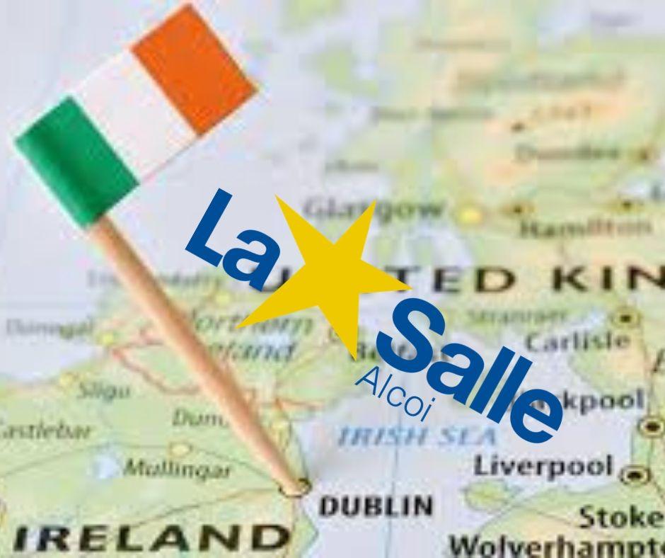 Alumnos de La Salle Alcoi en Irlanda