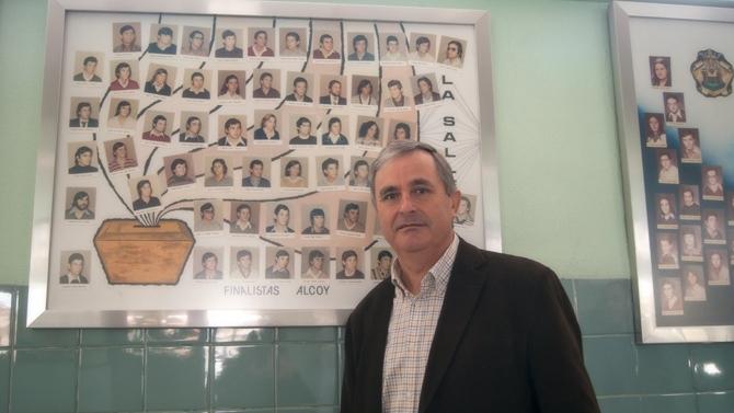 Juan Fuster, antiguo alumno de La Salle Alcoi, delegado institucional del CSIC (Valencia)
