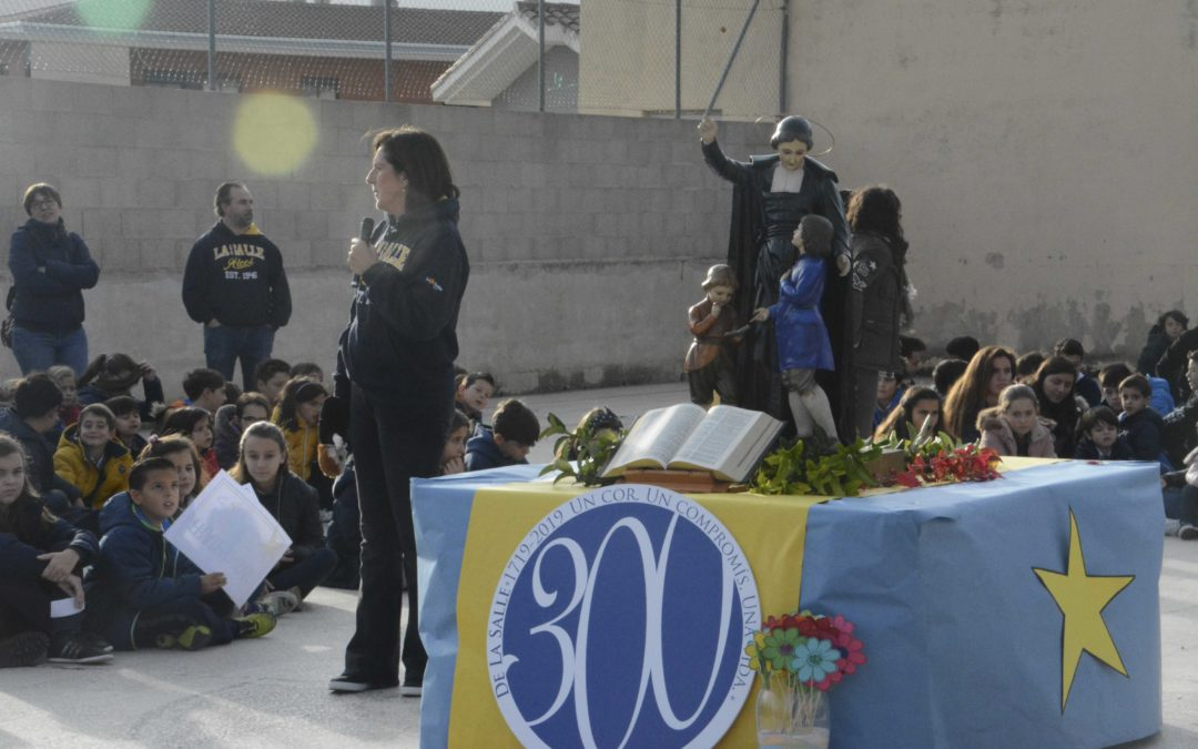 La Salle Alcoi celebra el fin del Tricentenario