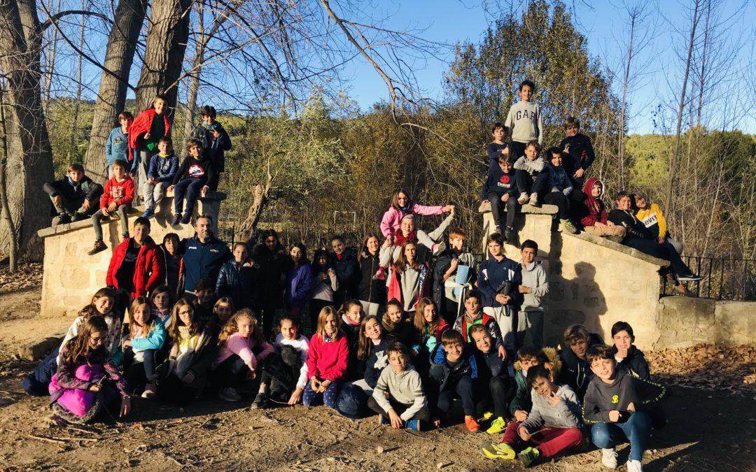 Alumnes de 5é de La Salle Alcoi van d'acampada