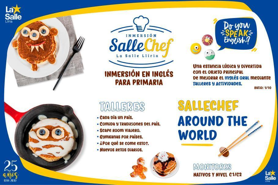 La Salle Alcoi participa en la semana de Inmersión Lingüística de La Salle Llíria