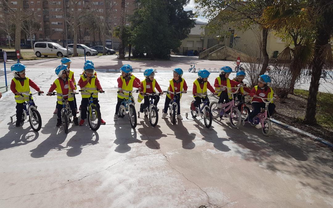 Alumnes de La Salle Alcoi visiten el parc d'Educació Viària d'Alcoi