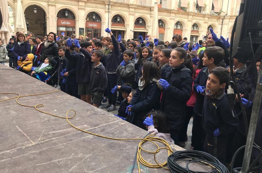 La Salle Alcoi en la celebración del 8 de marzo
