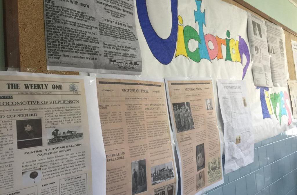 """Aprendiendo sobre """"Victorian times"""" en La Salle Alcoi"""
