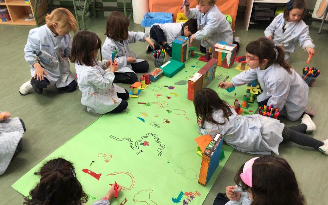 English project para los alumnos de Infantil en La Salle Alcoi