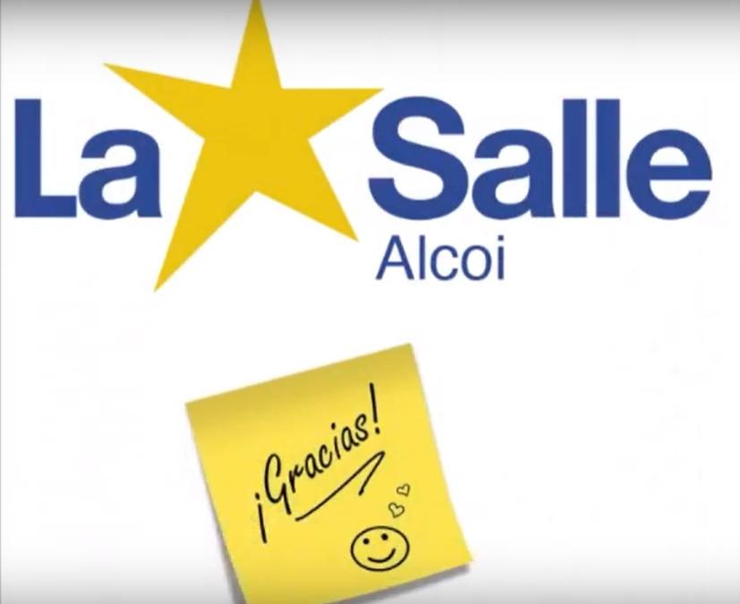 La Salle Alcoi dice ¡¡GRACIAS!!