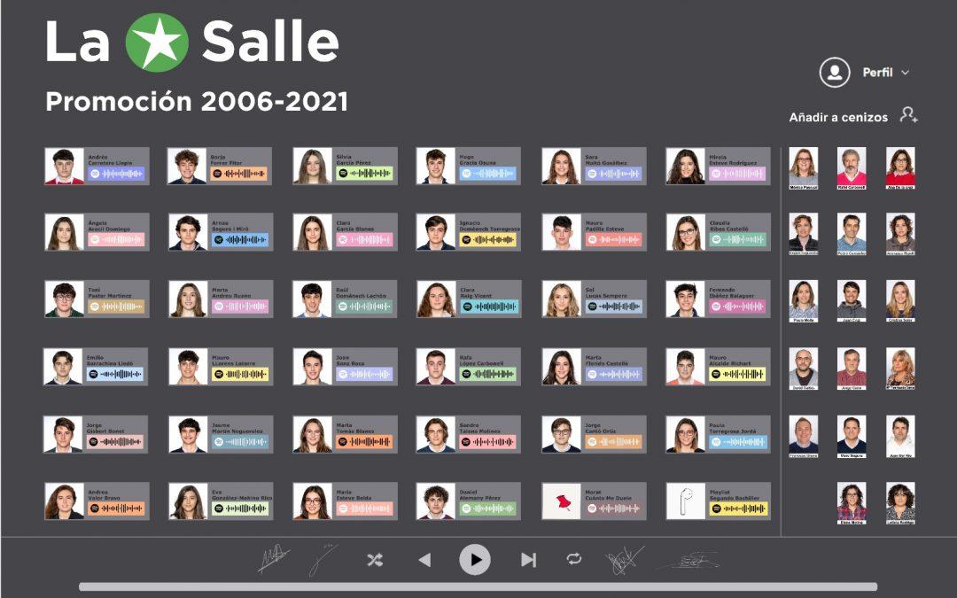 La promoción 2019-2021 celebra su acto de graduación en La Salle Alcoi